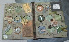 faith art journaling using coin collector book