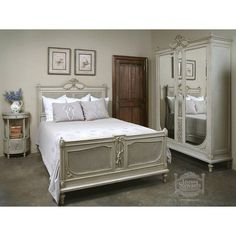 Antique Bedroom Furniture  Bedroom Sets  Antique French Louis Xv Extraordinary French Bedroom Set Inspiration Design