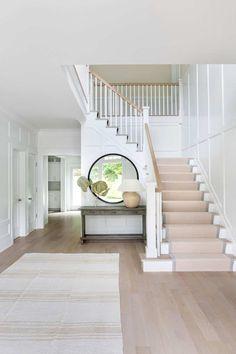 Dream Home Design, My Dream Home, House Design, Floor Design, Entryway Stairs, Entrance Foyer, Entry Hallway, Hallway Ideas, Design Living Room