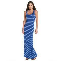 Product: Kensie® Striped Maxi Tank Dress
