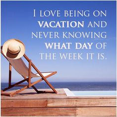 Hope that is permanent vacay!