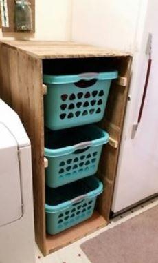 افكار لترتيب المنزل بدون تكاليف Diy Laundry Room Storage Laundry Room Diy Diy Laundry
