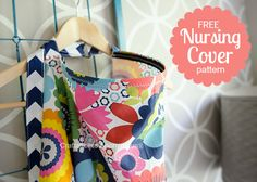 Free nursing cover pattern. Seriously one of the best I've seen!