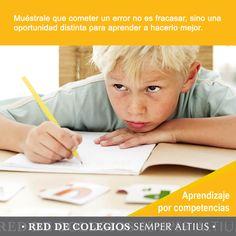 """Algunas consideraciones para impulsar en los niños el """"Aprender a aprender"""". #Aprendizajeporcompetencias #SemperAltius"""