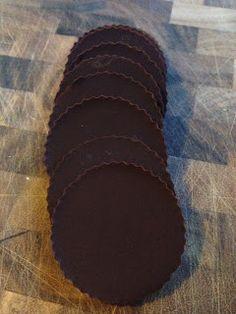 DIY raw mint chocolate