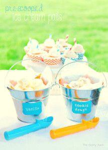 Ice Cream Social Pre Scooped Pail