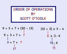 This 15-page math smartboard lesson is an interactive lesson that covers order of operations.  The students come to the board and touch what they b...