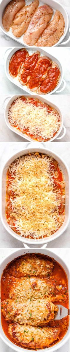 Mozzarella Parmesan Chicken Casserole - Crisp and cheesy, this 30 minute keto ch. Mozzarella Parmesan Chicken Casserole - Crisp and cheesy, this 30 . I Love Food, Good Food, Yummy Food, Chicken Recipes, Keto Chicken, Cheesy Chicken, Cracker Chicken, Recipe Chicken, Baked Chicken