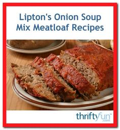 one pound meatloaf recipe-#one #pound #meatloaf #recipe Please Click Link To Find More Reference,,, ENJOY!! Lipton Onion Soup Mix Meatloaf Recipe, One Pound Meatloaf Recipe, Homemade Onion Soup Mix, Onion Soup Recipes, Meatloaf Recipes, Crispy Baked Chicken Breast Recipe, Quinoa Recipes Easy, Dutch Recipes, Amish Recipes