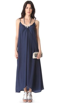 resort maxi dress / one by pink stitch