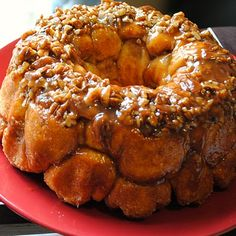 Apple Cinnamon Monkey Bread Recipe (Homemade By Holman), made using canned refrigerated biscuits such as Pillsbury Buttermilk biscuits