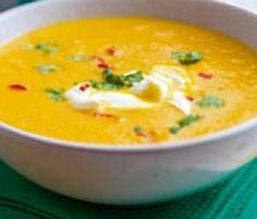 Rezept Möhren-Orangen-Suppe mit Ingwer von svenv01 - Rezept der Kategorie Suppen