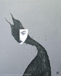 Black Cat 4 - Collage - Original