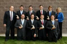 Alan and Suzanne Osmond and their eight sons Michael, Nathan, Douglas, David, Scott, Jonathan, Alexander and Tyler.
