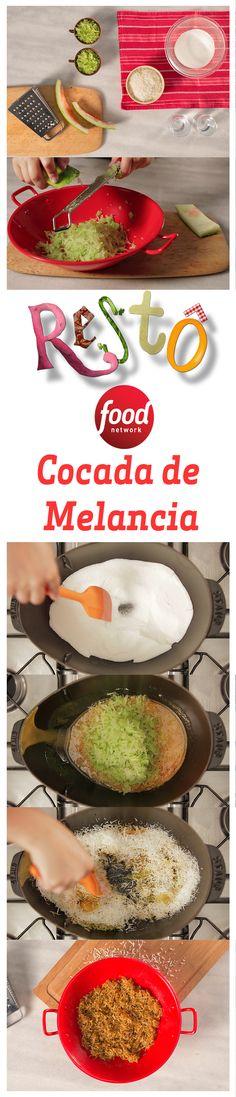 Essa receita de Cocada de Casca de Melancia é o doce que faltava para completar seu almoço num fim de semana! Além de saborosa, possui fibras e nutrientes benéficos para o seu corpo.