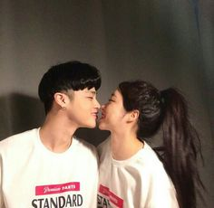 Love You Boyfriend, Sister Poses, Two Of A Kind, Korean Couple, Ulzzang Couple, Couple Aesthetic, Perfect Couple, Friend Photos, Handsome Boys