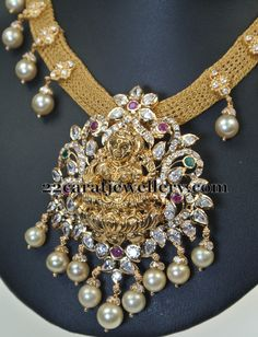 adorable-laxmi-set-by-swarna-sri-jewellers.JPG (459×600)
