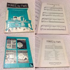Newly listed just a sample of some of the vintage sheet music song books on my eBay shop. stuffforyou715@ebay.com Vintage 1964 Schaums tunes for two duet piano for students. $12.00 free shipping. #vintagesheetmusic #sheetmusic #oldsheetmusic #songbooks #sheetmusicforpiano #schaums #oldsheetmusic #pianosheetmusic #stuffforyou715 #ebaymusic #vintageebay #vintagepiano #rareebay by pauline_connors