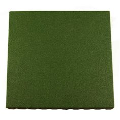 Bounce Back Rubber Playground Mats All Sizes showing one green tile. Playground Mats, Playground Flooring, Natural Playground, Backyard Playground, Playground Ideas, Backyard Ideas, Outdoor Games For Kids, Outdoor Toys, Outdoor Rubber Tiles