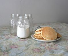 Weekday Pancakes from a Homemade Mix - Bless This Mess