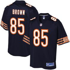 #Fanatics.com - #NFL Pro Line Daniel Brown Chicago Bears NFL Pro Line Youth Player Jersey - Navy - AdoreWe.com