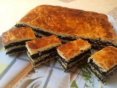 Mákos bejgli szelet Spanakopita, Ethnic Recipes, Food, Meal, Eten, Meals