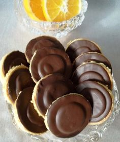 Recept na domácí čokoládové piškoty - 1 Cupcake Recipes, Pie Recipes, Sweet Recipes, Baking Recipes, Cookie Recipes, Jaffa Cake, Czech Recipes, Desert Recipes, Christmas Baking