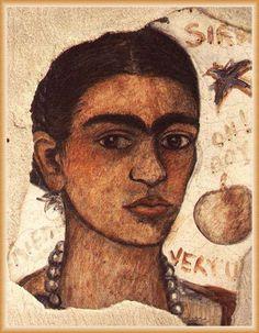 Frida Khalo self-portrait, 1933,