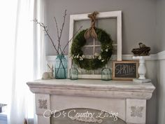 Spring Mantel and more! - CD's Country Living