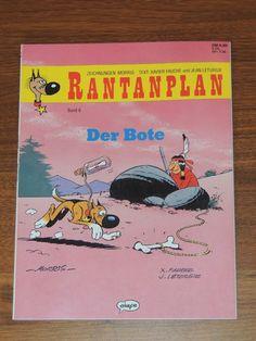 Rantanplan Band #6 Der Bote (Ehapa Verlag) Western Comics, Lucky Luke, Westerns, Comic Books, Band, Cover, Drawing S, Sash, Comic Strips