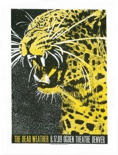 OMG Posters! » Archive » The Dead Weather Denver Poster by Print Mafia