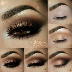 I love the eyelashes for this look!
