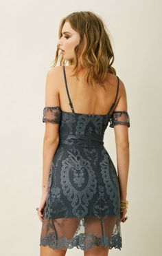 For Love and Lemons Vienna Dress #lace #chic #elegant