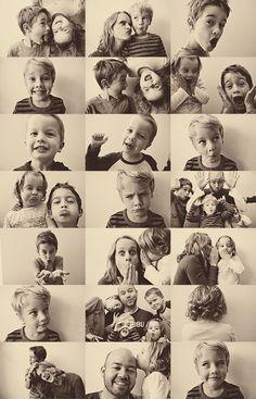 "Love this idea...""Annual Family 'Crazy' Photos"""
