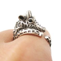 Details Sizing Shipping A super detailed animal ring made in the shape of a giraffe! It is made to look like you have a miniature giraffe wrapped around your finger! For more giraffe rings and giraffe themed animal jewelry just visit our store! Giraffe Ring, Giraffe Jewelry, Animal Jewelry, Animal Print Rings, Animal Rings, Dainty Jewelry, Charm Jewelry, Silver Jewelry, Jewelry Gifts