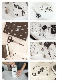 #Black #White #session #Love #Inspired #Craft #Giftwrap #design Gift Bags, Graphic Illustration, How To Draw Hands, Black White, Gift Wrapping, Inspired, Creative, Gifts, Inspiration