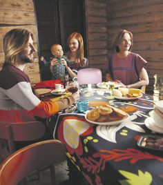 Family fun in Marimekko gear