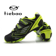 Tiebao Men Outdoor Mountain Bicycle Shoes Professional MTB Bike Shoes Non-slip Self-locking Cycling Shoes Zapatos de ciclismo