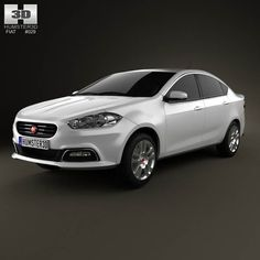 Fiat Viaggio 2013 3d model from humster3d.com. Price: $75