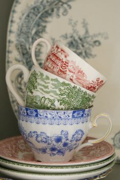 I love transferware ...