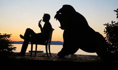 My Cardboard Cutouts Come To Life In Magical Sunset Silhouettes | Bored Panda