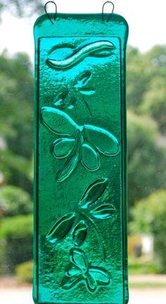 Dragonflies Sun Catcher - by Sandra A Wills