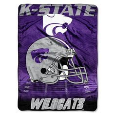 Use this Exclusive coupon code: PINFIVE to receive an additional 5% off the Kansas State University Overtime Throw at SportsFansPlus.com