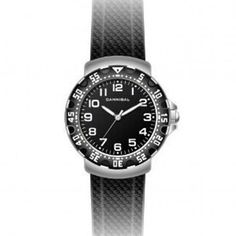 Cannibal Active Black Dial & Leather Strap Children's Watch CJ091-03