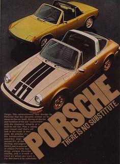 1974 | Porsche | Advertisement