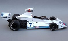 1975 Brabham Ford (if a car ist beautiful than it is fast) Le Mans, Grand Prix, Nascar, Classic Race Cars, Martini Racing, Formula 1 Car, Indy Cars, F1 Racing, Car And Driver