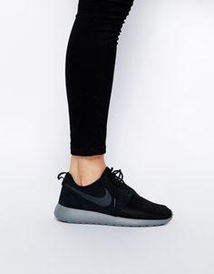 Agrandir Nike - Rosherun - Baskets d'hiver - Noir