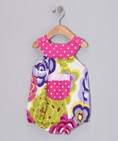 Take a look at this Hot Pink Modern Mums Bubble Bodysuit - Infant  by Beary Basics on #zulily today!