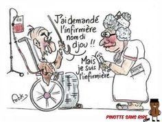 blague courte infirmiere