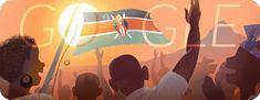 Google Doodle: Independence Day Kenya 2013